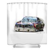 Bmw Csl Batmobile Shower Curtain