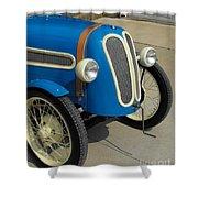 Vintage Bmw Racer Shower Curtain