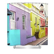 Bo Kaap 1 Shower Curtain