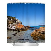 Boat Harbour Beach Shower Curtain