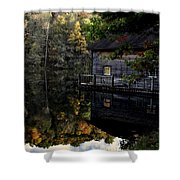 Boat-house Shower Curtain