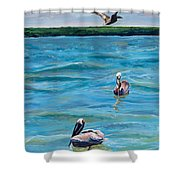 Boating In Fort Myers Shower Curtain