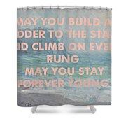Bob Dylan Art Print Shower Curtain