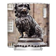 Bobby Statue, Edinburgh, Scotland Shower Curtain