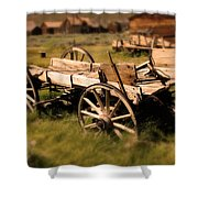 Bodie Wagon Shower Curtain