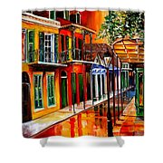Bold Vieux Carre Shower Curtain