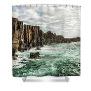 Bombo Headland Quarry At Kiama, Australia Shower Curtain