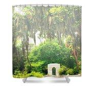 Bonaventure Cemetery Savannah Ga Shower Curtain by William Dey