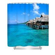 Bora Bora Lagoon Resort Shower Curtain
