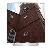 Boston Historical Meeting Room Shower Curtain