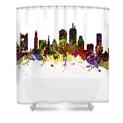 Boston Usa Shower Curtain
