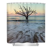 Botany Bay Morning Shower Curtain