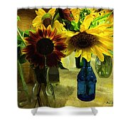 Bottled Sunshine  Shower Curtain