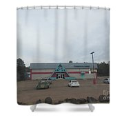 Bowling Lanes Shower Curtain