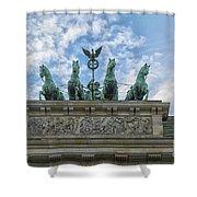Brandenburger Gate, Berlin Shower Curtain