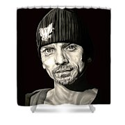 Breaking Bad Skinny Pete Shower Curtain