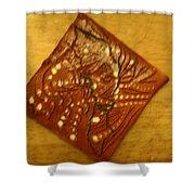 Breathe - Tile Shower Curtain