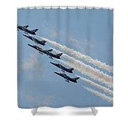 Breitling Jet Team Shower Curtain