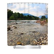 Brenta River Shower Curtain