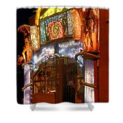 Brewery Gulch Color In Bisbee Shower Curtain
