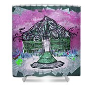Brick House Shower Curtain