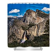 Bridalveil Falls Rainbow #2 Shower Curtain