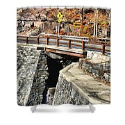 Bridge By Kaaterskill Falls 1 Shower Curtain