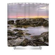 Brigus South Sunrise Shower Curtain