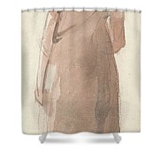 British Title A Country Girl In The Lake District Shower Curtain