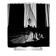 Brooklyn Shadows Shower Curtain
