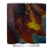Bubble Nebula Shower Curtain