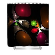Bubbleshock Shower Curtain