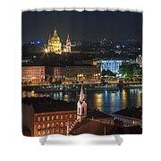 Budapest, Danube River, Hungary Shower Curtain