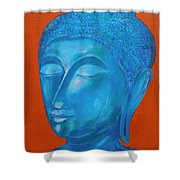 Buddah I Shower Curtain