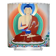 Buddha Kashyapa Shower Curtain