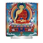 Buddha Shakyamuni Shower Curtain