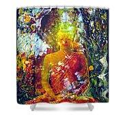 Buddha Shower Curtain