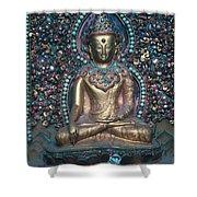 Buddhist Deity Shower Curtain