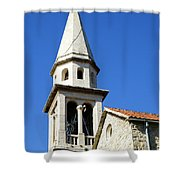 Budva, Montenegro  Shower Curtain