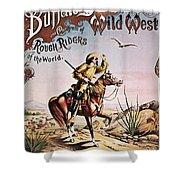 Buffalo Bill: Poster, 1893 Shower Curtain