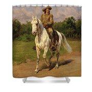 Buffalo Bill Shower Curtain