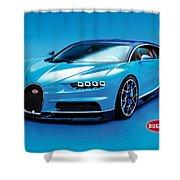 Bugatti Chiron 30 Shower Curtain