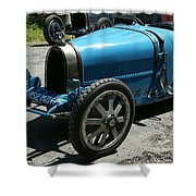 Bugatti Oldtimer Shower Curtain