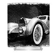 Bugatti Type 57 Aerolithe Shower Curtain