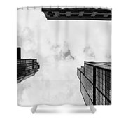 Buildings Shower Curtain