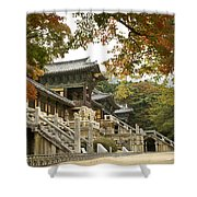 Bulguksa Buddhist Temple Shower Curtain