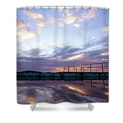 Bulli Pool Shower Curtain