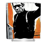 Bullitt Shower Curtain