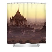 Burma Landscape Shower Curtain