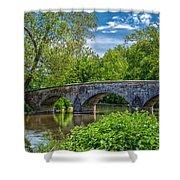 Burnside Bridge, Antietam Shower Curtain